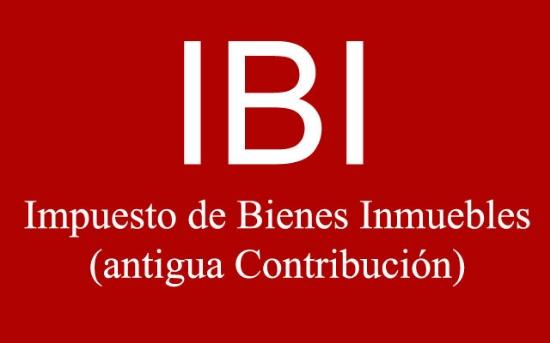 IBI (antigua Contribución)